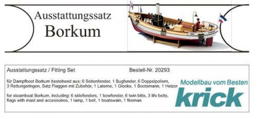 Borkum Ausstattungssatz Krick 20293
