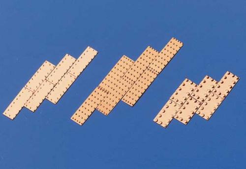 Kupferplatten gepr.5x15mm 100Stk Krick 60805