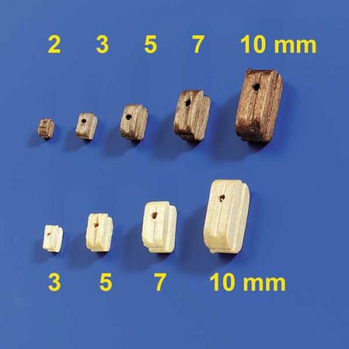 Blöcke 3mm (10 Stück) Krick 60860