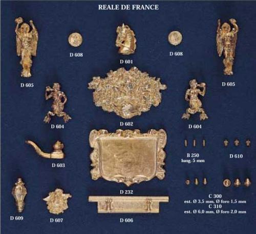 Met.beschlagteile Real de France Krick 62425