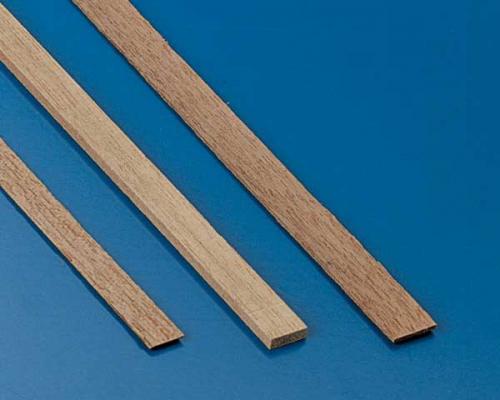 Nussbaumleisten 0,5x4mm(10Stk) Krick 81558
