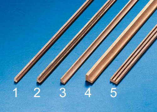Zierprofil 2 3x3x500mm (2Stk) Krick 81642