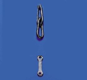 Puettingbeschlaege 8x8x8mm(10Stk) Krick 836320