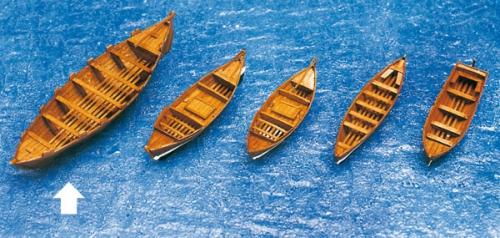 Beiboot Schaluppe 155x42x26mm Krick 836461
