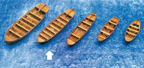 Beiboot Schaluppe 120x31x19mm Krick 836463