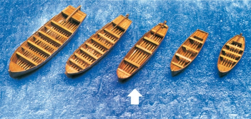 Beiboot Schaluppe 108x26x18mm Krick 836464