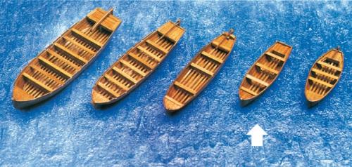 Beiboot Schaluppe 83x23x16mm Krick 836467