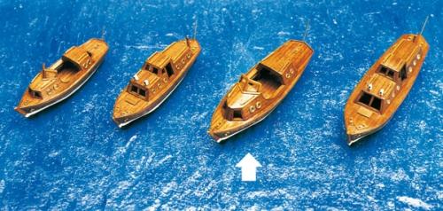 Beiboot Motor 123x35x43mm Krick 836474