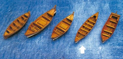 Beiboot Walfang 125x27x24mm Krick 836478