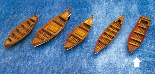 Beiboot Ruderboot 103x28x22mm Krick 836479