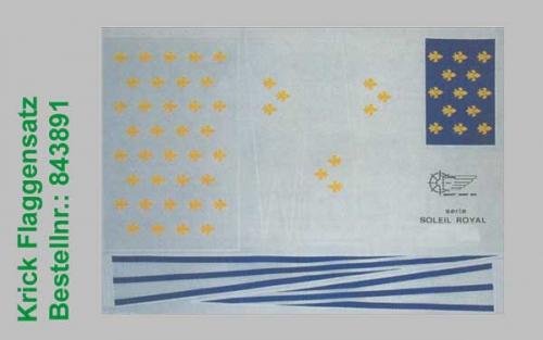 Flaggensatz Le Soleil Royal Krick 843891
