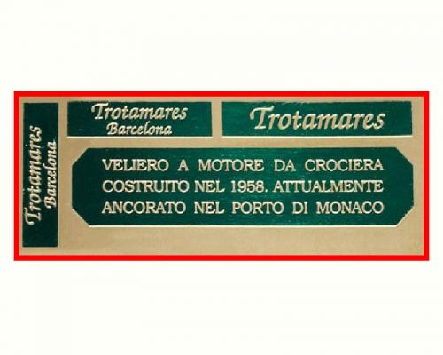 Fotoätzplatte Trotamares Krick 844029