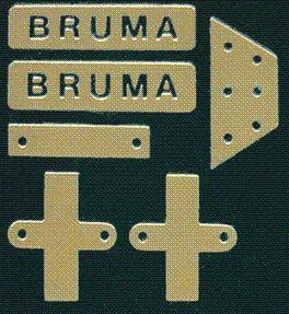 Fotoätzplatte Bruma Motorsegelyacht Krick 844035