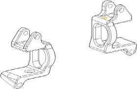Achsschenkelträger vorne Set Vulcan Krick 850705