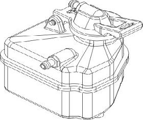 Tank Vulcan Krick 850707