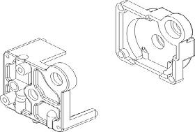 Getriebehalterung Set Vulcan Krick 850712