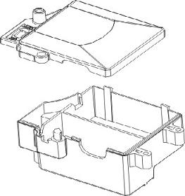Empfängerbox Vulcan Krick 850720