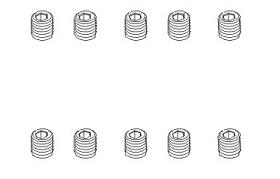 Schrauben M3x3 (10) Krick 850785