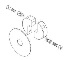 Schalteinheit 2-gang Getriebe Vulcan Krick 850823