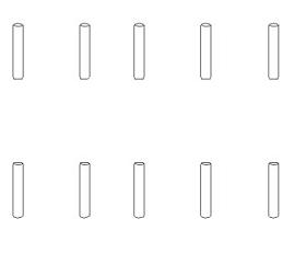 Mitnehmerstifte 1,5x7 (10) Krick 850832
