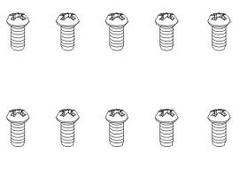Schrauben BT 1,7x5 BH (10) Krick 850844