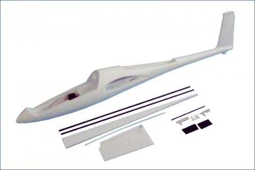 Rumpf DG1000, mit Servos Hype Kyosho 018-1501