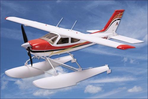 Cessna 177 Cardinal ESC, BL, Servo Hype Kyosho 022-1350