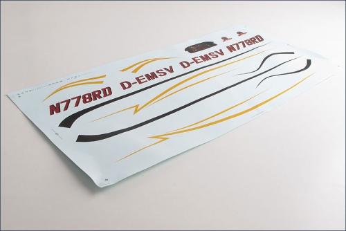 Dekorbogen Cessna 177 Cardinal Hype Kyosho 022-1358