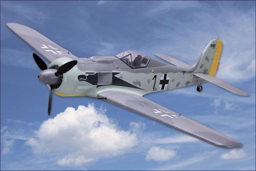 Focke Wulf 190 ESC, BL, Servo Hype Kyosho 022-1400
