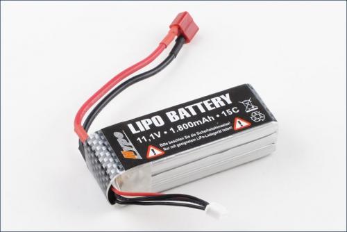 Lipo Battery 11.1V 1300 15C U CAN FLY Hype Kyosho 022-2091