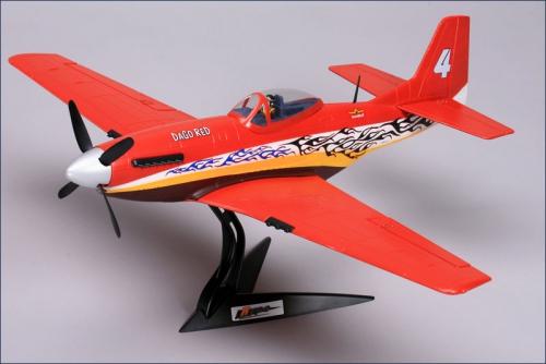P-51 Dago Red ARF,ESC,BL,Servo Hype Kyosho 025-1000