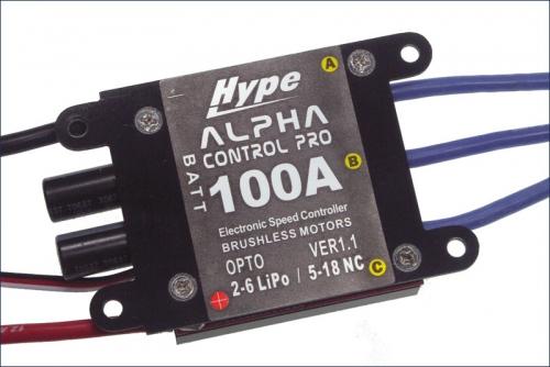 BL-Drehzahlsteller 100A Alpha Pro Hype Kyosho 059-0100