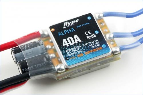 BL-Drehzahlsteller 40A Alpha Plus Hype Kyosho 059-1040