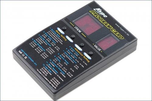 Programmierkarte Alpha Car LED Hype Kyosho 059-3000