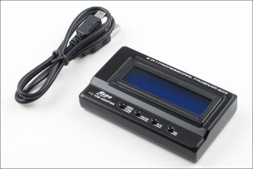Programmierkarte Alpha Car LCD Hype Kyosho 059-3001