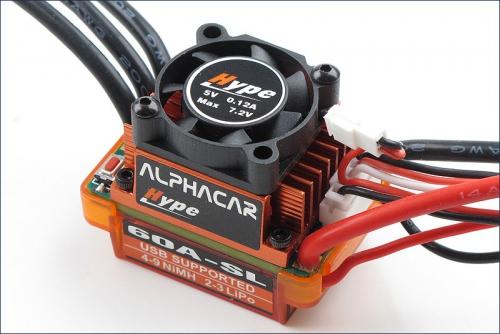 AlphaCar 1/10 BL S/L 60A Hype Kyosho 059-3060SL