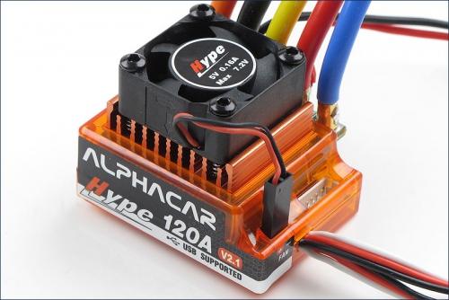AlphaCar 1/10 BL S/L 120A Hype Kyosho 059-3120