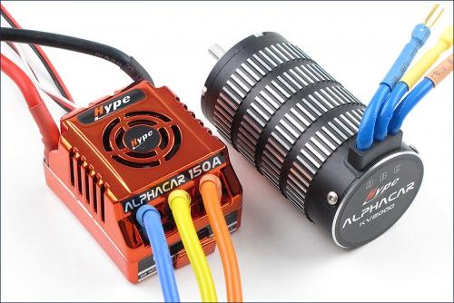 AlphaCar 1/8 BL S/L 150A/4274SL Motor Hype Kyosho 059-3150C