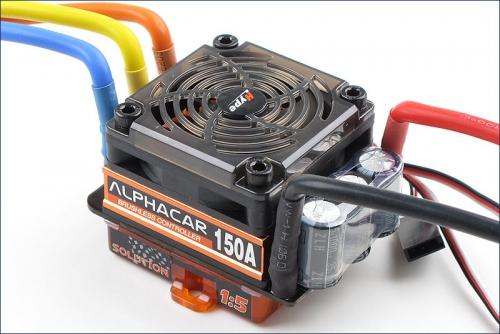 AlphaCar 1/5 BL S/L 150A Hype Kyosho 059-3150SL
