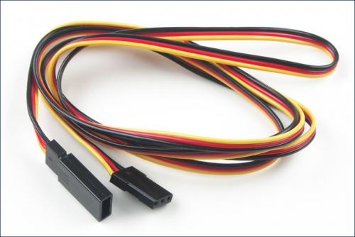 Servoverl.Kabel 900mm,Graupner/hitec Hype Kyosho 070-7347