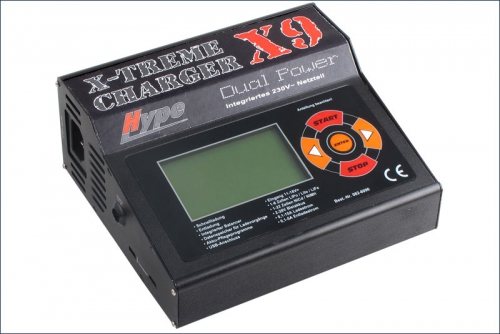 Ladegeraet X-Treme Charger X9 Dual Power Hype Kyosho 082-6090