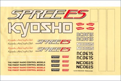 Dekorbogen Spree ES M29 Kyosho 10161-04