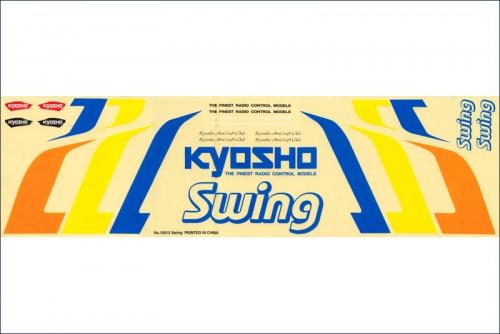 Dekorbogen Swing Kyosho 10312-02