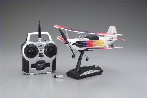 EP Christen Eagle 2,4Ghz r/s, rainbow Kyosho 10654RS-RA