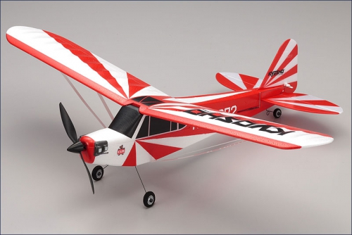 EP Clipped Wing Cub, rot Kyosho 10752CR