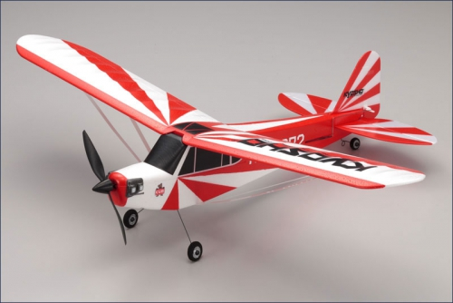 EP Clipped Wing Cub 2,4Ghz r/s, rot Kyosho 10752RS-CR