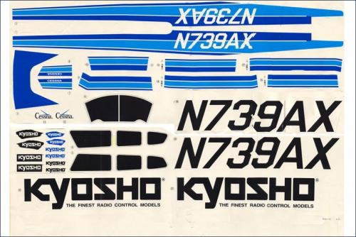 K.1860 Kyosho ZIERSTREIFEN 0,7MMX8M SCHWARZ