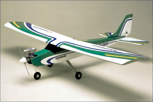 GP Trainer 40 Calmato, gruen, GX-40 Kyosho 11211G-GX