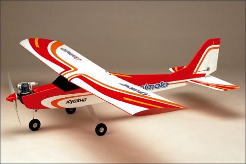 GP Trainer 40 Calmato, rot, GX-40 Kyosho 11211R-GX
