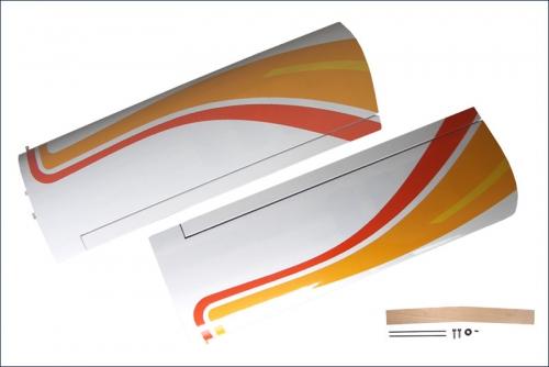 Tragflaechen Calmato, gelb Kyosho 11211Y-11E